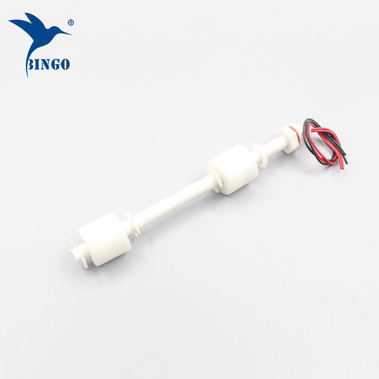 سوپاپ سطح شناور عمودی 100 میلیمتر تا 500 میلی متر دو بار پلاستیکی برای مخازن آب