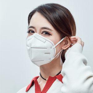 n95 ماسک یکبار مصرف برای جلوگیری از مه دود ، جلوگیری از گرد و غبار و تنفس آزادانه