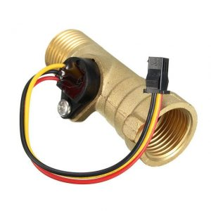 DC-5V-15mA-Brass-1-2-Inch-Thread-Hall-Effect-Flow-Flow-Sensor-Switch-Flow-Meter
