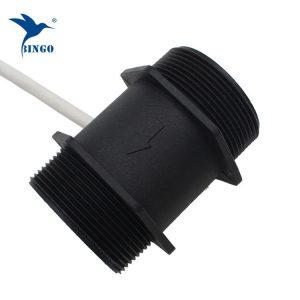 عمده فروشی dn50 g2 نرخ 200l min پلاستیک pom hole اثر سنسور جریان جریان مغناطیسی