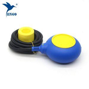 MAC 3 نوع تنظیم کننده سطح در سوئیچ شناور کابل زرد و آبی رنگ