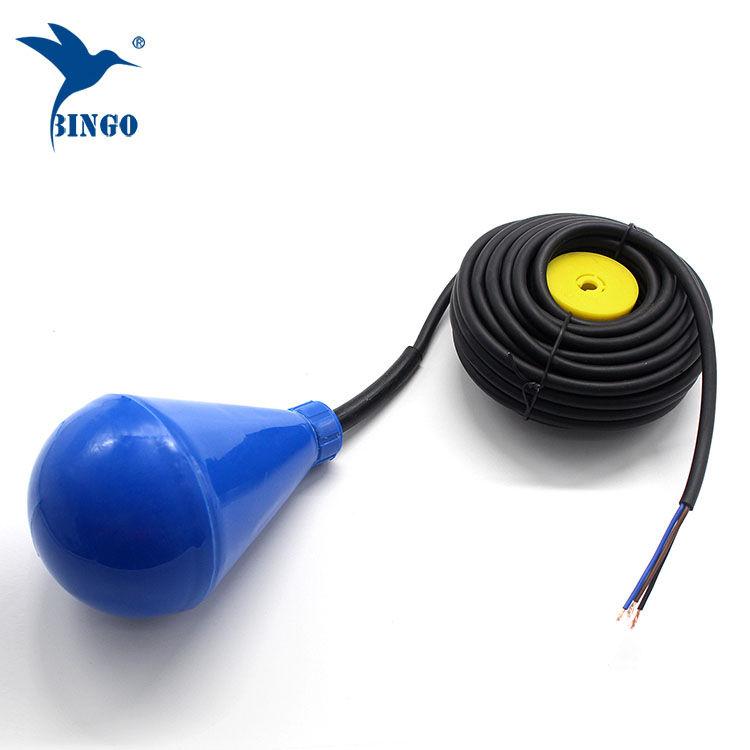 سوپریلیفور شکل مخزن سطح شناور سوئیچ با کابل PVC
